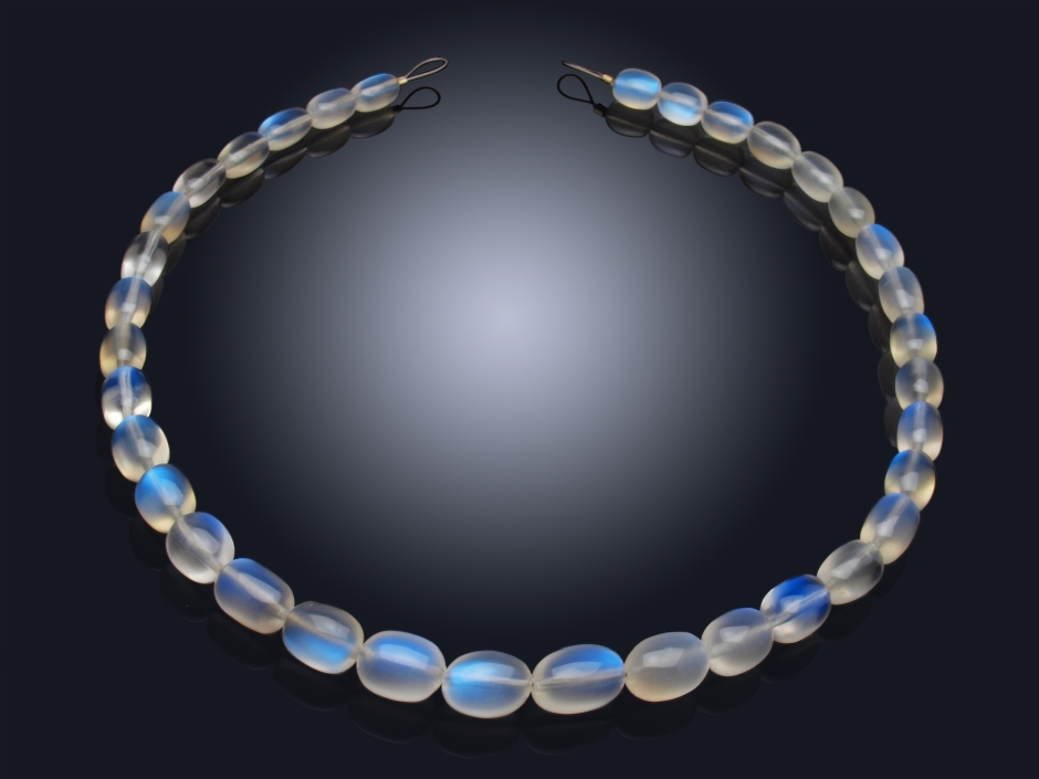 Gemstone Necklace with Moonstone